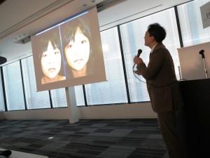 8 皮膚外科医として活躍する柴田医師は、眼瞼形成の失敗から成功症例までの変遷をあえて投げかけながら、症例の情報共有の必要性を訴えた。